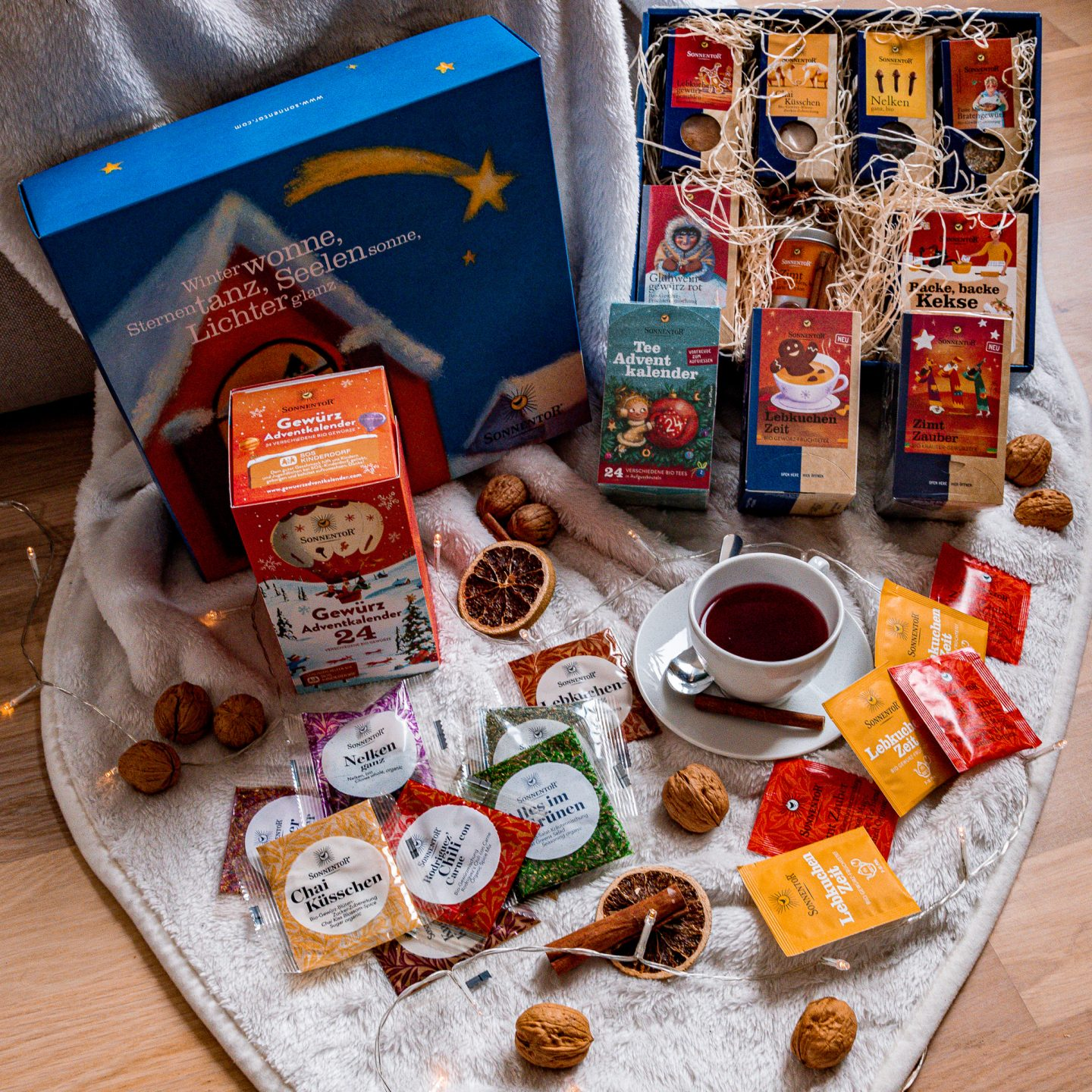 Organic Tea and Spices by SONNENTOR: Giveaway